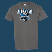 ALLEY CAT 20th ANNIVERSARY shirt (design by Larry)